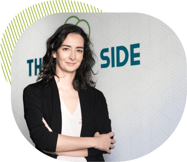 Aida Ramos Thinking Side